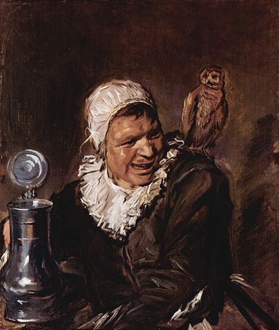 Malle Babbe, een tronie van Frans Hals